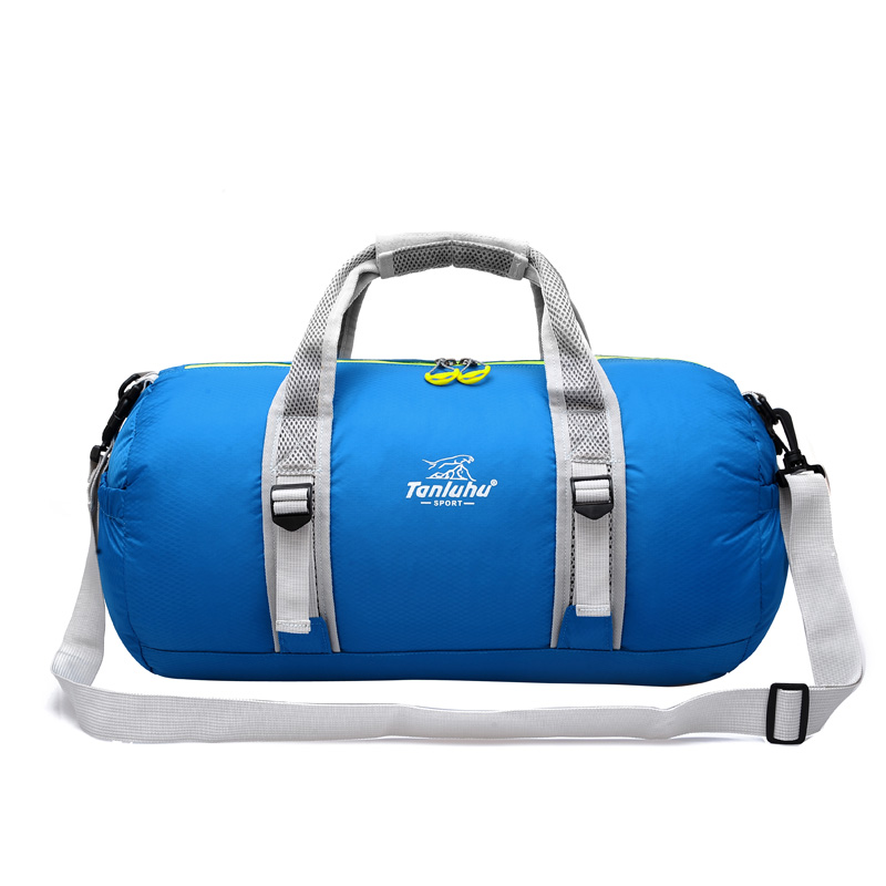 5f6456bffa9a Waterproof Gym Bag Fitness Sport Bag Outdoor Foldable Training Holdall  Leisure Shoulder Pack Trendy Travel Handbag