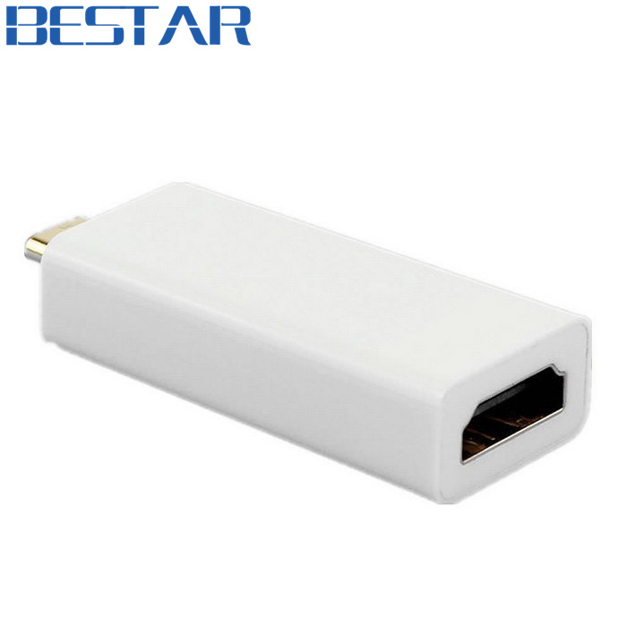 USB-C USB 3.1 USB Type C to HDMI 1080p HDTV Adapter connector converter for 2015 New 12 Macbook & Google Chromebook hightek hu 03 universal usb to rs485 422 converter adapter