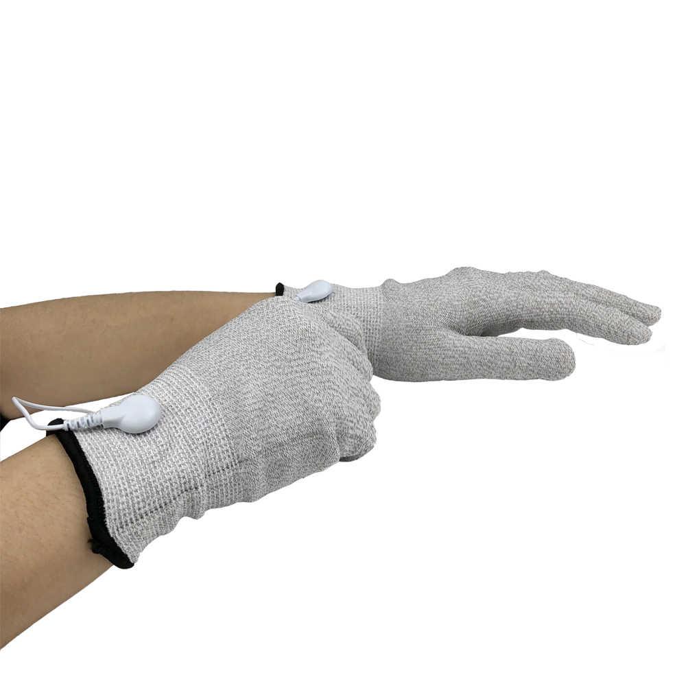 Guanti magici BIO SME Trattamento per Viso e Del Corpo Elettro Stimolazione Muscolare Microcurrent Tonificante Anti Rughe Della Pelle di Sollevamento Strumento