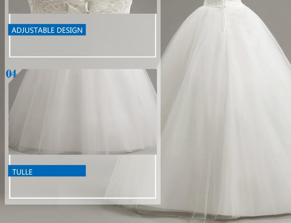 9 LAMYA Custom Size Romantic Lace Wedding Dress 2018 Fashionable Short Bride Gowns Cheap Bridal Dresses vestidos de novia