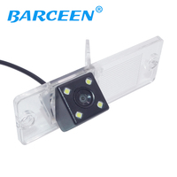 Pajero Camera Car Rear View Camera With 4 LED HD CCD Camera For Mitsubishi Pajero 2009