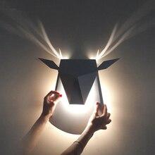 Moderne Led Mur Lampe 3 W Corps En Aluminium Bois Mur Lumière Pour Chambre Éclairage À La Maison Luminaire Luminaire Salle de Bain Mur applique