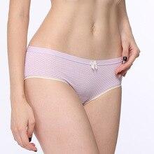 Women Cotton Panties Women's Sexy Modal Briefs Girls Pink Dot Underpants Panty Knickers Female Underwear