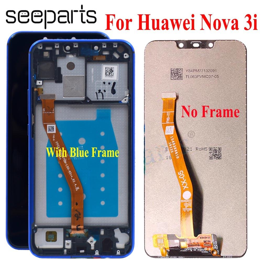 LCD Huawei Nova 3i LCD Display With Original 6.3