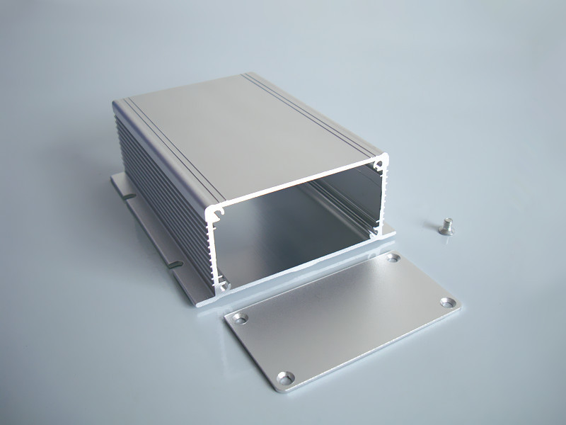 DIY Aluminum enclosure 88*40*110mm power shell electronics enclosure pcb project box wall mounted case NEW aluminum enclosure for pcb power shell electric project box diy 80 35 100 3 15 x1 38 3 93 wxhxl mm new wholesale