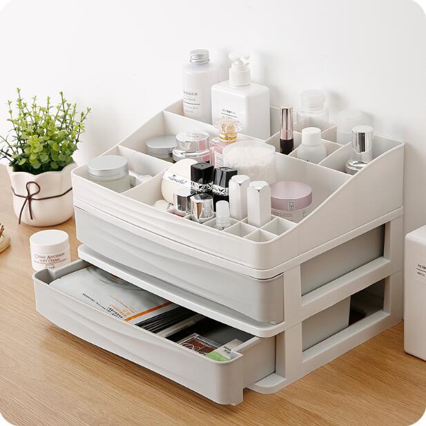 Cosmetic Storage Box Desktop Drawer