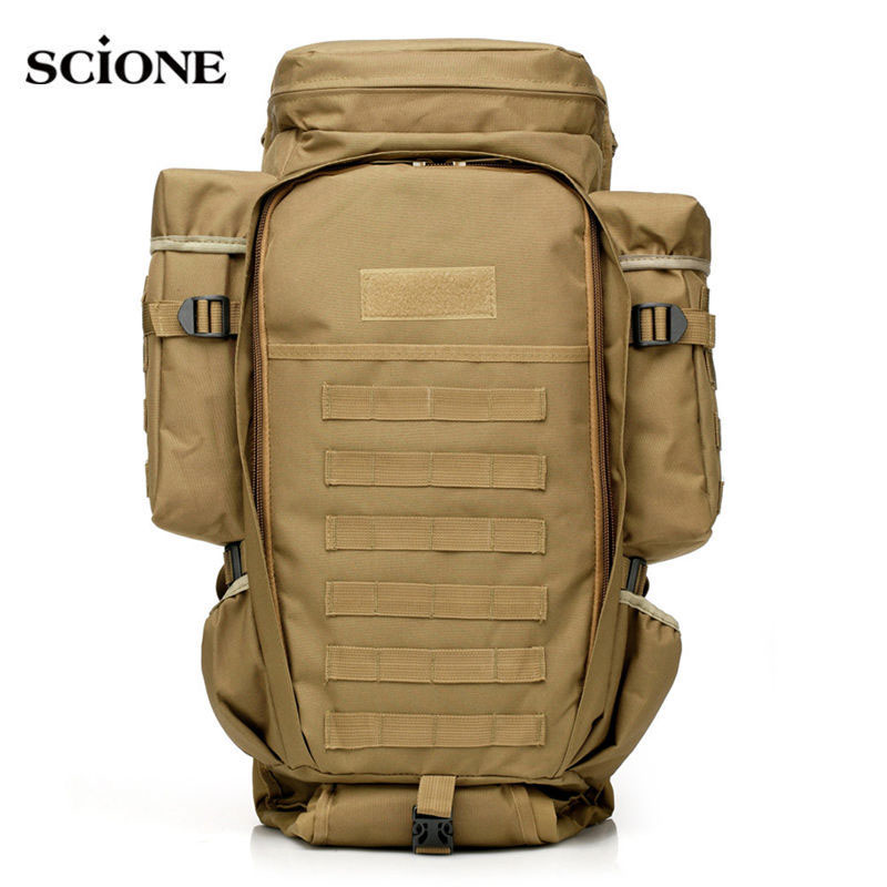 где купить USMC Military Molle Bag Camping Tactical Backpack Men Large Waterproof Travel Outdoor Sport Bag Shoulder Rifle Rucksack XA433WA по лучшей цене