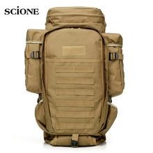 USMC Military Molle Bag Camping Tactical Backpack Men Large Waterproof Travel Outdoor Sport Bag Shoulder Rifle Rucksack XA433WA