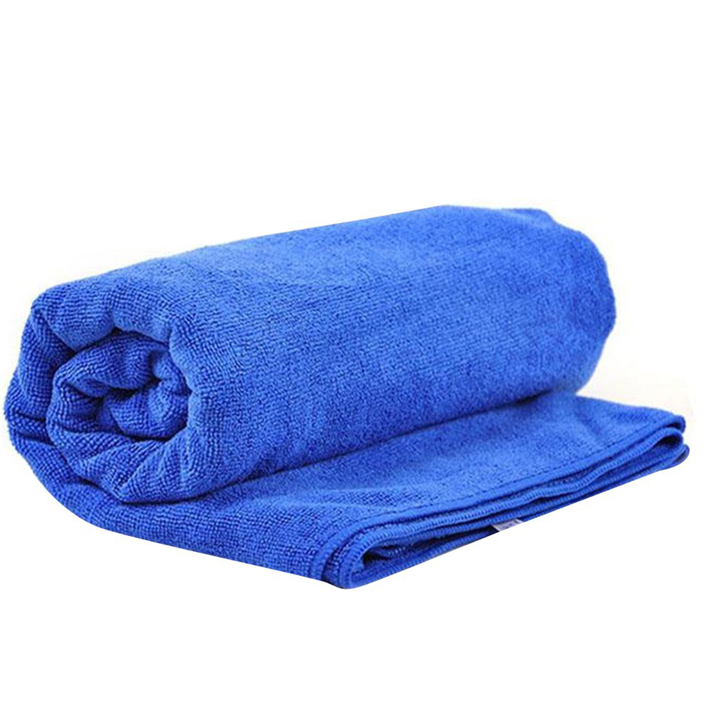 Softness Strength Microfiber Towel Car Care Cleaning Wash Clean Cloth Washrag Double Sides Use