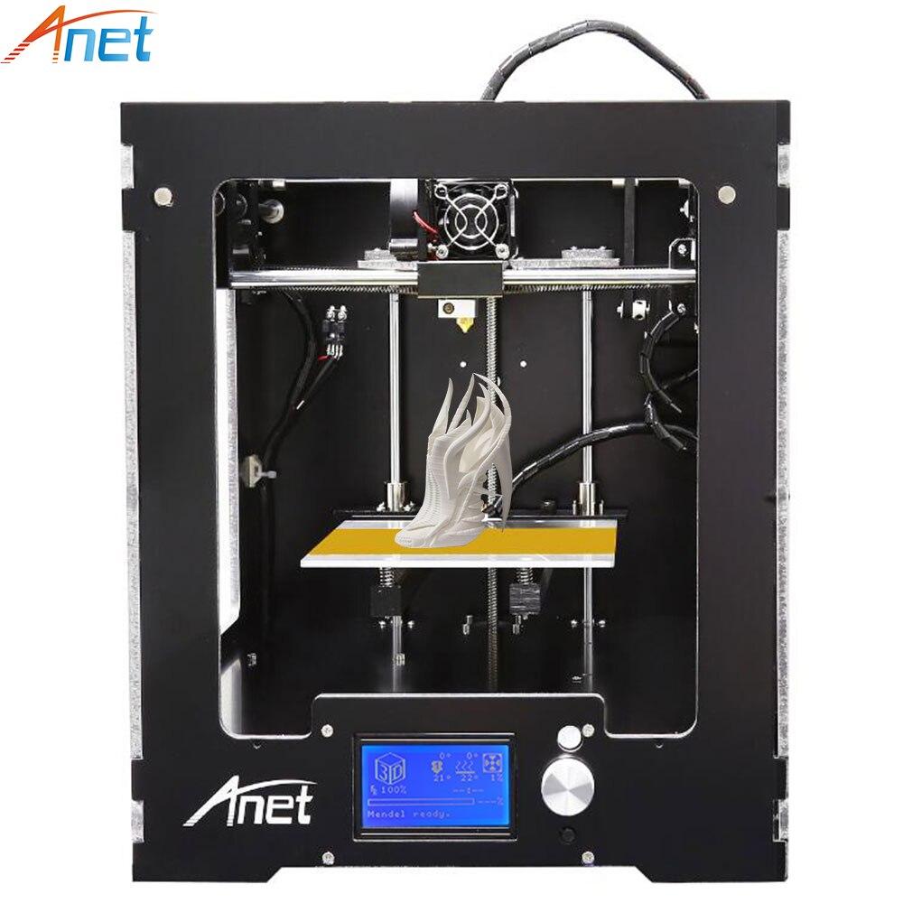 Anet A3 3D Printer Full Assembled Desktop Big Build Size Precision Reprap Prusa i3 3D Printer with Filaments+8G SD Card 2017 hot anet a3 full assembled desktop 3d printer precision reprap prusa i3 3d printer with 1roll filaments 16g sd card tool