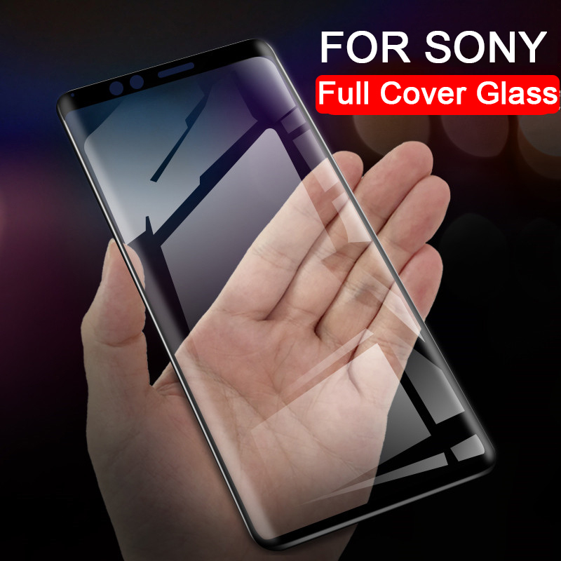 Screen protector for Sony Xperia <font><b>1</b></font> <font><b>10</b></font> Plus Xperia1 Xperia10 10plus tempered glass for Sony Xperia <font><b>10</b></font> Plus protective glas film image