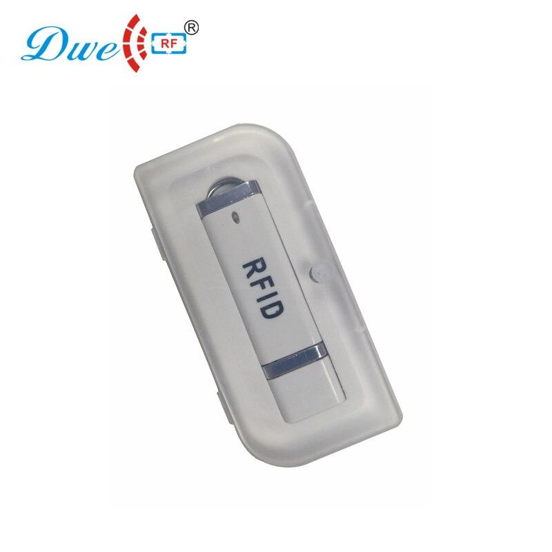 DWE CC RF USB RFID считыватель карт для Android Mini 125khz TK4100 или 13,56 mhz MF NFC портативный сканер типа C P01