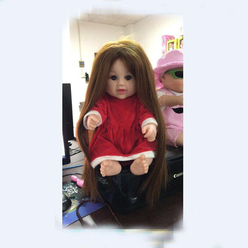 48 см силикона Reborn Baby Doll Boneca LOL игрушки для купания для девочки ребенок Рождество подарок на день рождения