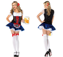 Adult Oktoberfest Uniform Lady Beer Festival Dress Women Beerfest Cosplay Costume Halloween Cosplay Dance Performances B-3451