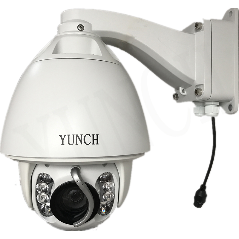 YUNCH HD 1080P PTZ Camera 20x optical zoom Security cctv ip camera system free shipping with wiper optional POE yunch full hd 1080p ptz ip camera 20 30x optical zoom security cctv ip camera system free shipping support poe auto tracking