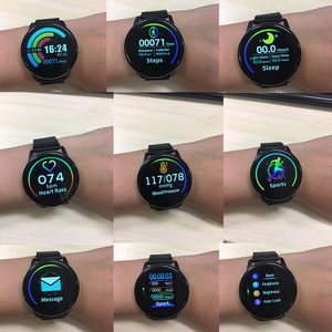 Image 2 - Makibes T5 PRO 고급 밀라노 마그네틱 피트니스 트래커 스마트 시계 혈압 모니터 Smartwatch Fashion PK Q8 Bracelet