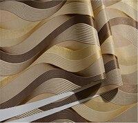 Beibehang Hiện Đại simple 3D stereo trừu tượng arc wallpaper phòng ngủ phòng khách phòng khách sạn cà phê net PVC đường rộng 3d hình nền