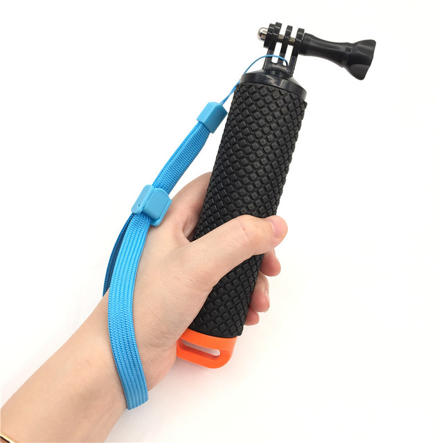 Float Hand Grip Buoyancy Rod Pole Stick Monopod Tripod for Gopro Go Pro Hero 5 4 3 Xiaomi Xiomi Yi 2 4K 4 K Action Camera