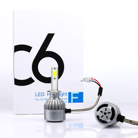 H1 LED Headlight Small Base 36W 4000LM All In One Car Bulb Super Bright Lamp Fog