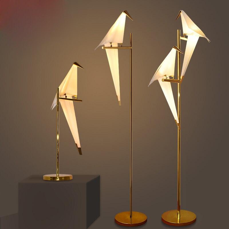 Moderne Kreative Vogel Bett Wohnzimmer Tischlampe Indoor Dest Lampe Dekoration Beleuchtung Mit Led Lampen Freies