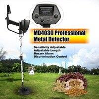 Portable Underground Metal Detector Handheld Treasure Hunter Gold Digger Finder Length Adjustable Dropship MD4030 Professional