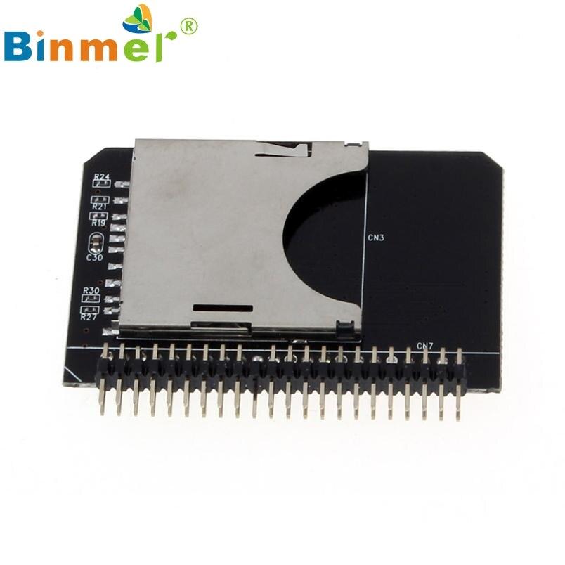 Binmer SD SDHC SDXC MMC Memory Card To IDE 2.5 Inch 44Pin Male Adapter Converter Td5232 Dropship