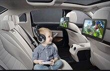 2 uds X 11 pulgadas Android 6,0 Ultra-delgada coche reposacabezas reproductor trasera monitor para asiento con pantalla táctil Bluetooth USB SD 1080P Wifi