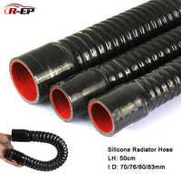 R-EP 70 76mm Silicone tuyau pour prise d'air 80 83mm Flexible tuyau haute pression température caoutchouc menuisier pour Intercooler Tube