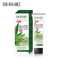 все цены на DR.RASHEL Aloe Vera Facial Cleanser Oil Control Face Wash Tighten Pore Anti Acne Smooth Moisture Deep Cleansing онлайн