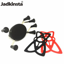 Jadkinsta Motorcycle Webgrip X Grip Mount 1 Inch Ball Mount Phone Holder for Gopro and Smartphones