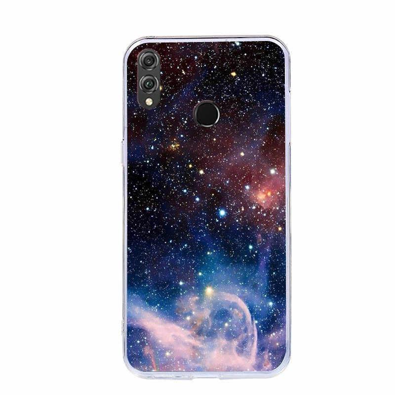 Чехол J & R Starry Sky для huawei P Smart Plus Nova 3i 2i 2 S 2 Plus 3 3E 4 Lite 2019 силиконовый чехол Мягкие Чехлы с изображениями из ТПУ