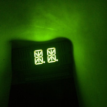 5 шт. 14 сегментов 0.54 «LED Дисплей модуль 2 Конструкторы 2 Биты 2 символов 2 Цифра 0.54 дюйма буквы зеленый 14 сегмент Дисплей общий анод