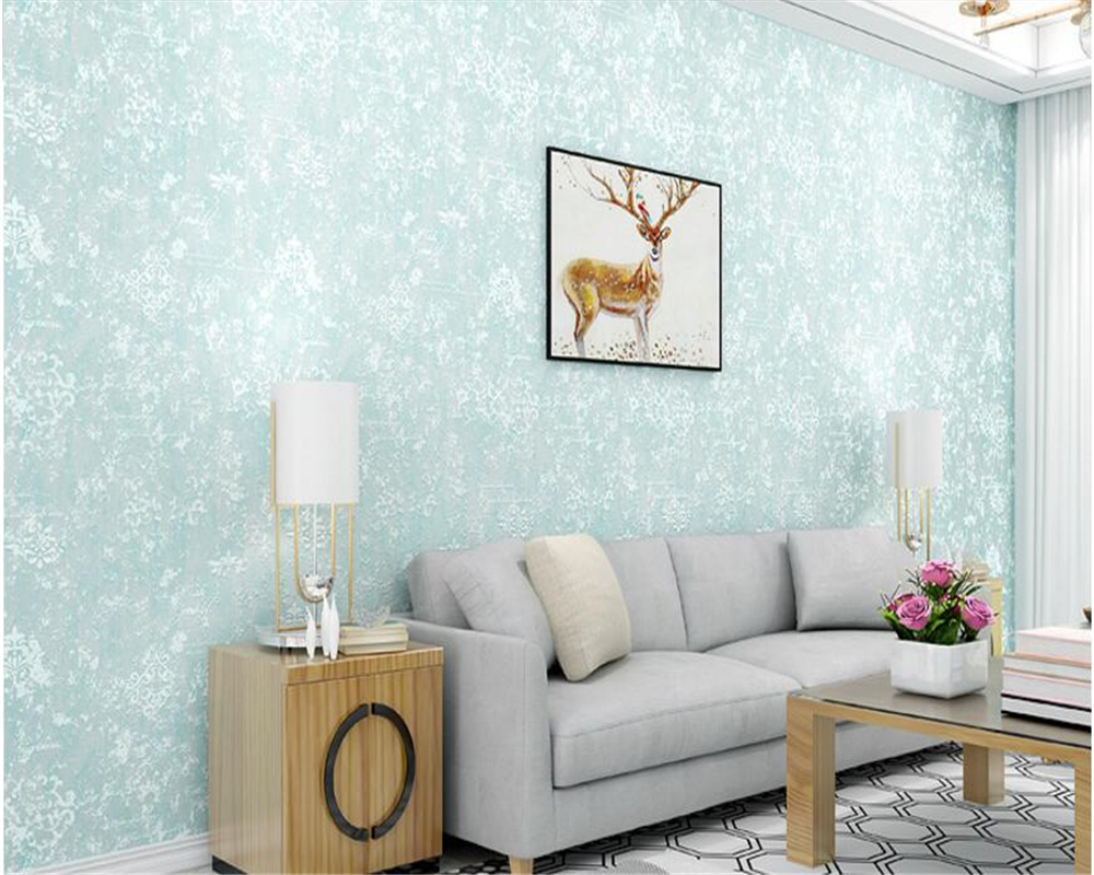 beibehang Simple and modern pure plain diatom mud papel de parede 3d wallpaper Three dimensional nonwoven plain cloth wall paper beibehang modern simple sandstone diatom mud color wallpaper papel de parede pure color wall paper bedroom living room tv wall