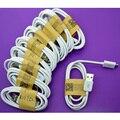 Alta calidad blanco 1 m los 3ft usb cable data sync cable cargador cables para samsung huawei htc 10 pcs/lot xiaomo