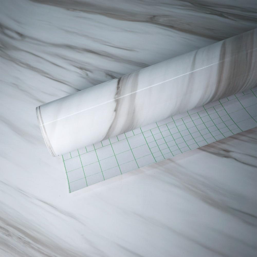 Cool Vinyltapete Kleben Dekoration Von Grau Marmor Wasserdicht Vinyl Selbstklebende Tapete Aufkleber