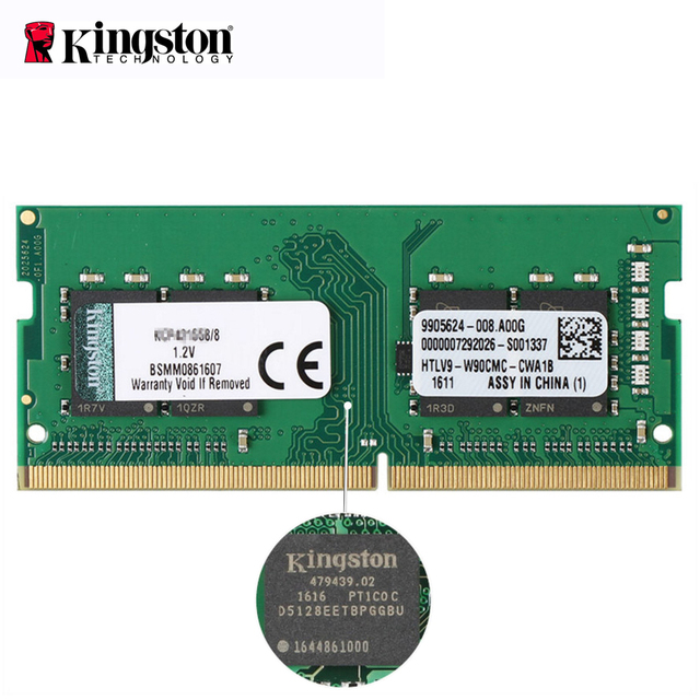 Kingston ddr 4 8gb 16gb ValueRAM ddr4 dimm 2400MHz KVR24S RAM For Laptop Gaming Memory RAM Notebook SODIMM ram 4 gb ddr4 8gb