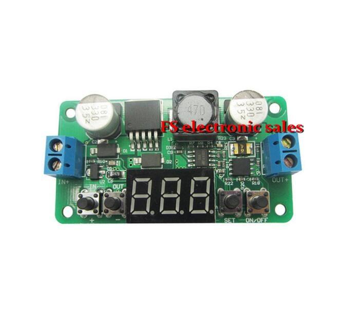 LM2596 DC-DC Step Down Power Supply Buck Converter Module Adjustable Regulator Constant Voltage Meter Voltmeter Led Display