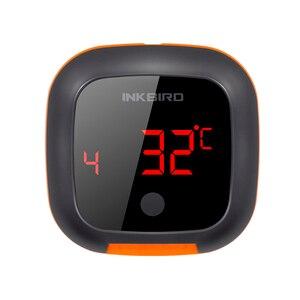 Image 3 - Inkbird Four numérique sans fil Bluetooth, thermomètre de cuisson pour BBQ, gril, thermomètre avec deux/quatre sondes et batterie rechargeable USB IBT 4XS
