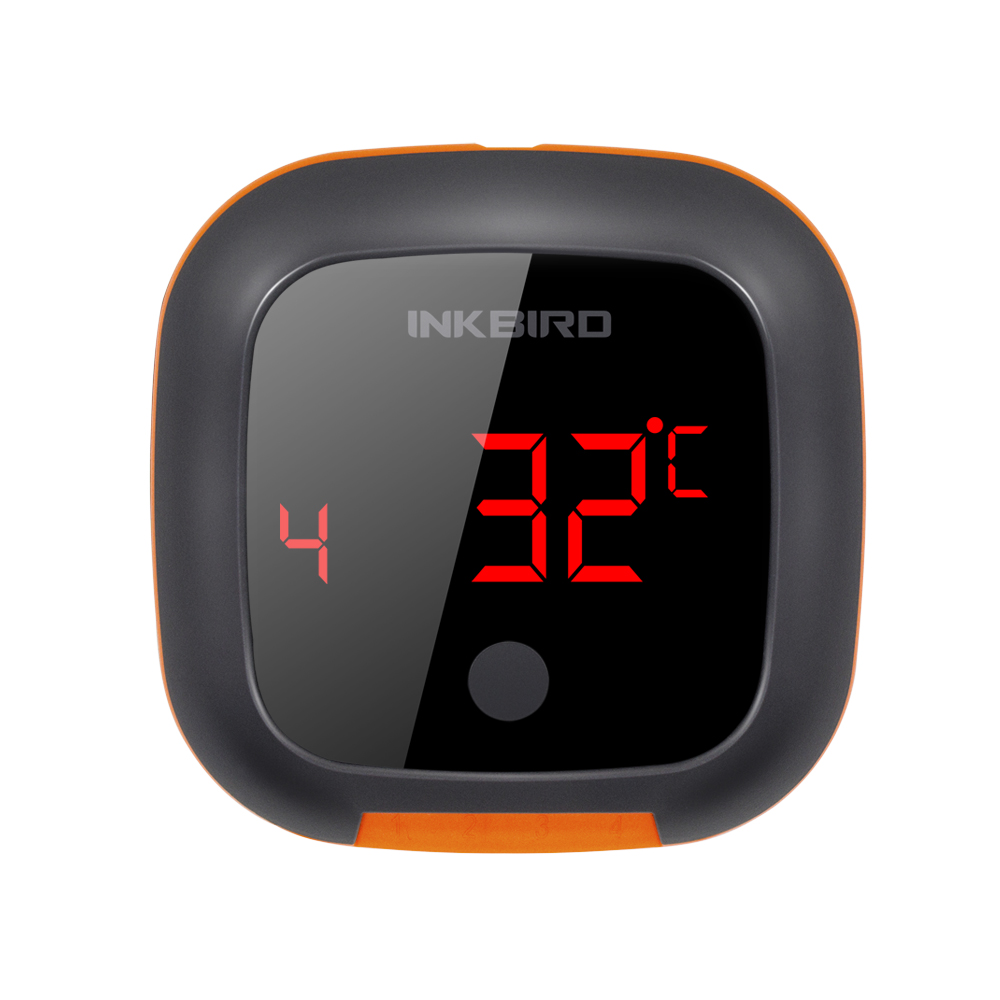 Tools : Inkbird IBT-4XS Digital Wireless Bluetooth Cooking Oven BBQ Grilling Thermometer With Two Four Probe and USB rechargable battery