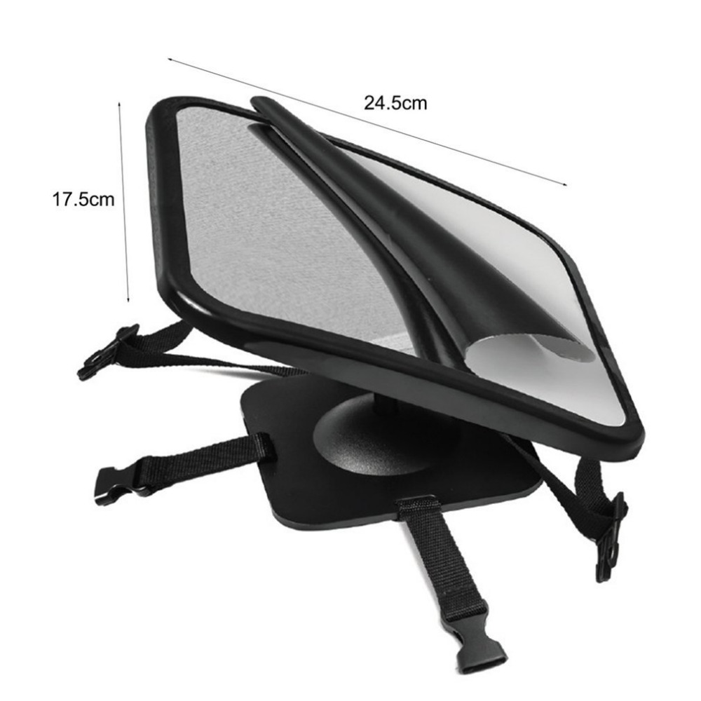 Car Safety Wide View Back Seat Mirror Rear Child Infant Care Safety Baby Kids Monitor Headrest Mount Car Accessories