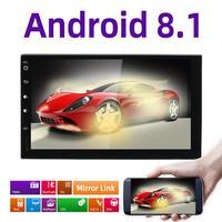 Bosion Android 9.0 Auto Radio Octa Core 7Inch 2DIN Universal Car NO DVD player GPS Stereo Audio Head unit Support DAB DVR OBD BT