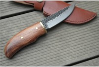 100 Hand Forged High Carbon Steel Small Straight Knife Camping Hunting Knives Outdoor Survival Equipment
