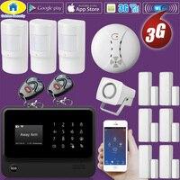 Golden Security G90B Plus WiFi 3G GSM WCDMA Wireless Home Security Burglar alarm System with Smoke Detector