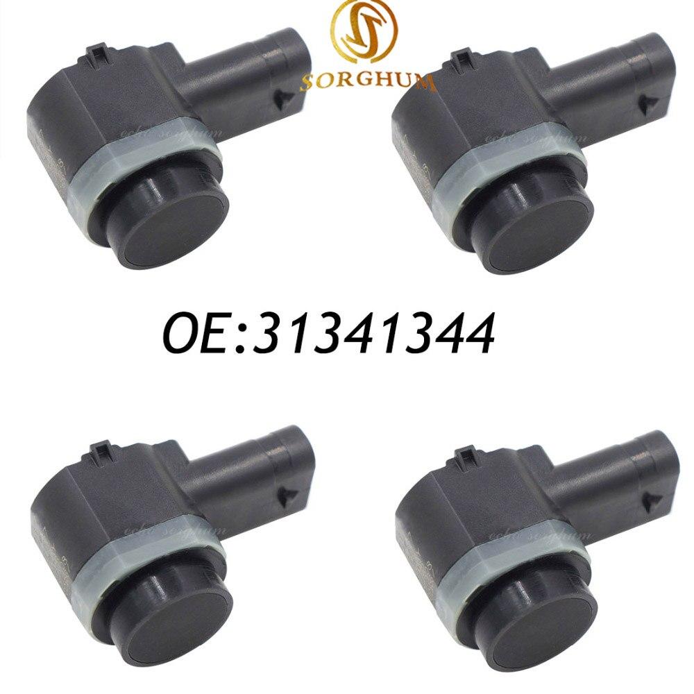 4 pièces 31341344 Pour VOLVO C30 C70 S60 S80 V70 XC70 XC90 Capteur De Stationnement PDC 30786968 31341637