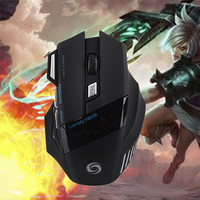 Promotion USB Wired LOL Dota2 Mouse 7 Colors LED Optics 6D Professional Game Players 1600DPI Computer
