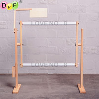 Adjustable Solid Wood Rack,Wooden Stand Desktop Cross Stitch embroidery Frame Needlework Sewing Handmade Tools