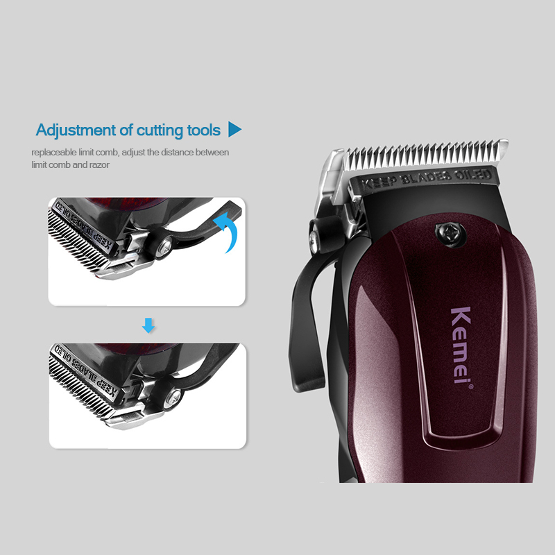 de corte cabelo para corte barba trimer à prova dwaterproof água