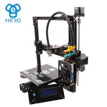 auto level Newest HE3D  EI3 DIY 3d printer kit single metal extruder , Aluminium Extrusion 2 rolls filament 8GB SD card as gift