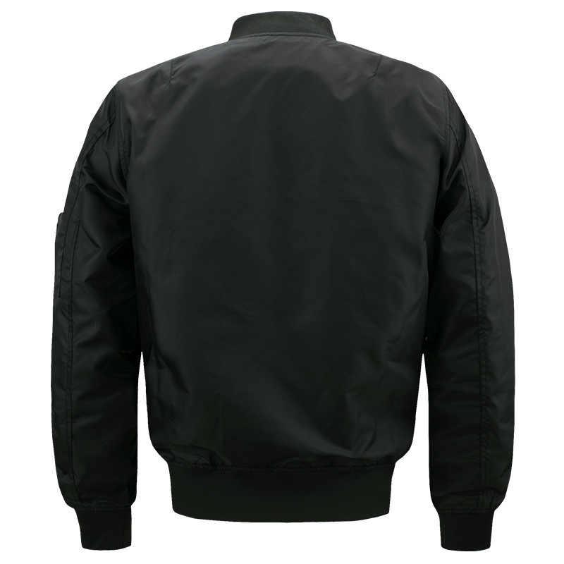 Новый повседневный мужской пиджак армейский Военный полет куртки-бомберы Мужская весенне-осенняя верхняя одежда военная куртка большого размера 8xl JK103