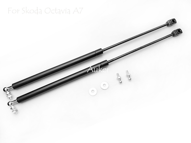 Image 5 - For 2016 2019 Skoda Octavia A7 MK3 Car styling Refit Bonnet Hood Gas Shock Lift Strut Bars Support Rod-in Interior Mouldings from Automobiles & Motorcycles